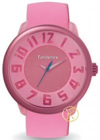 TENDENCE Fantasy Pink Rubber Strap TO630007