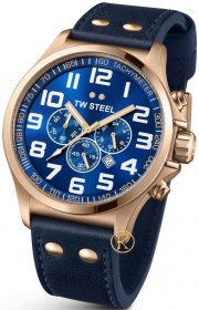 TW Steel Mens Pilot Chrono 48mm TW407