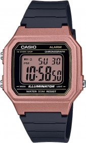 Casio Youth Digital Rose / Black W-217HM-5AVEF