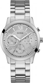 GUESS Crystals Multifunction Stainless Steel Bracelet W1070L1