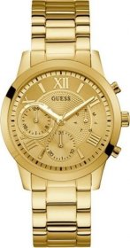 GUESS Crystals Multifunction Gold Stainless Steel Bracelet W1070L2
