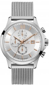 GUESS Collection Stainless Steel Chronograph Y27004G1MF