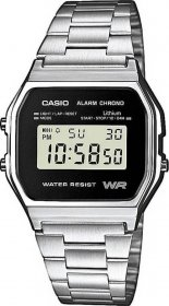 CASIO Collection Stainless Steel A-158WEA-1EF