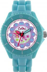 Colori Kids Mint Green Rubber Strap CLK035