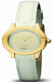 Moschino Let's be Chic White Leather Strap  MW0081