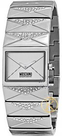 Moschino Time for SMS Crystal Stainless Steel Bracelet MW0165
