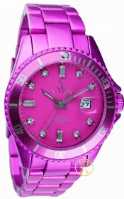 ToyWatch Metallic Stones Pink Watch ME06PS