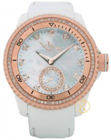 VIP TIME White Mother Of Pearl With Rose Gold VP8020WH