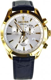 Sector Classic Black Leather Strap R3271785005