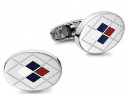 TOMMY HILFIGER Stainless Steel Cufflinks 2701022 code4495