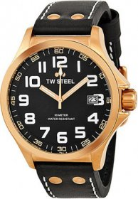 TW Steel Mens Pilot Watch 45mm TW416