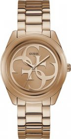 GUESS Rose Gold Stainless Steel Bracelet W1082L3