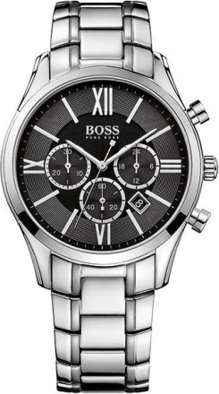 Hugo Boss Black Ambassador Mens Chrono Watch 1513196