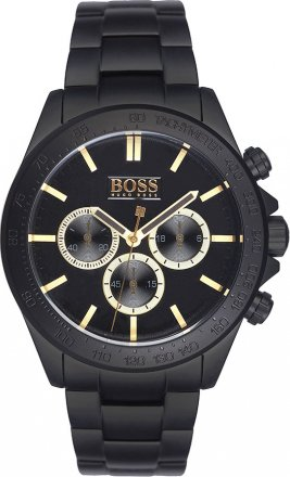 BOSS Orange Black Stainless Steel Chronograph 1513278