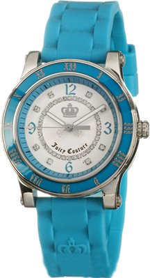 Juicy Couture Blue Rubber Strap 1900459