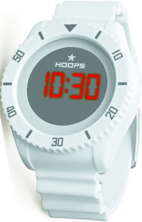 Hoops Under Water Touch White Rubber Strap 2479ME-06