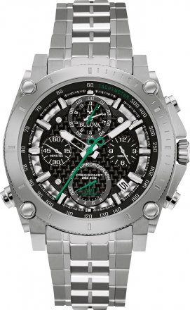 BULOVA Precisionist Champlain 140th Anniversary Stainless Steel Chronograph 96G241