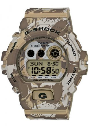 CASIO G-Shock Brown Cameo Rubber Strap GD-X6900MC-5ER