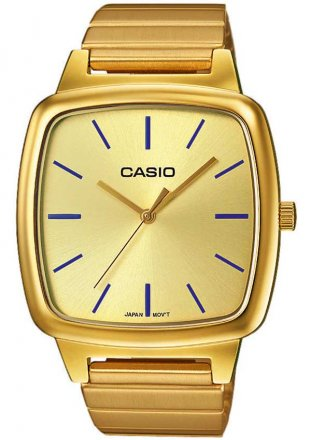 CASIO Collection Gold Stainless Steel Bracelet LTP-E117G-9AEF