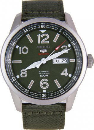 Seiko Military Automatic Men's Watch SRP621K1
