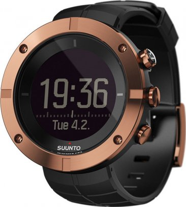 SUUNTO Kailash Copper Black Rubber Strap SS021815000