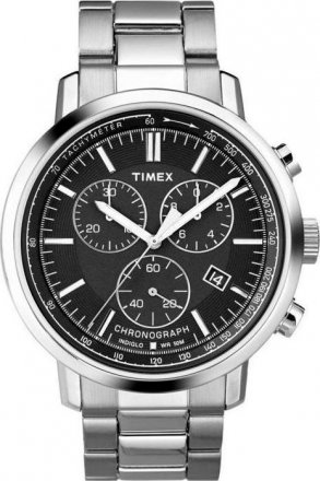 Timex Dress Chronograph Stainless Steel Bracelet T2N557
