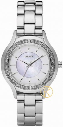 DKNY Chronograph Crystal Stainless Steel Bracelet  NY8134