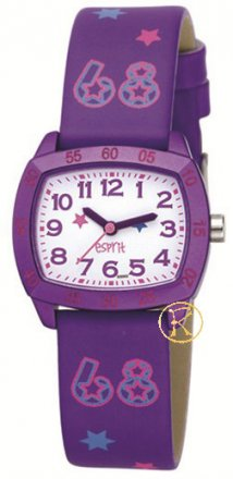 ESPRIT Glitter Girl Purple Leather Strap  ES103504002