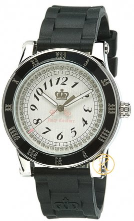 Juicy COUTURE Black Rubber Strap 1900418