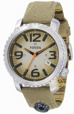 FOSSIL Trend Degrade Dial Brown Leather Strap JR1139