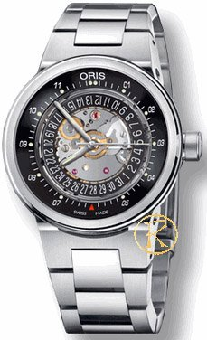 ORIS Automatic Williams F1 Black With Stainless Steel Bracelet 7337560-4114MB