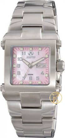 REACTOR MC2 Midsize Mother of Pearls Pink Dial 62013