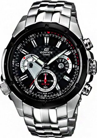 Casio Edifice Analog Quartz Watch with Chronograph and Steel Bracelet EF-535SP-1AVEF