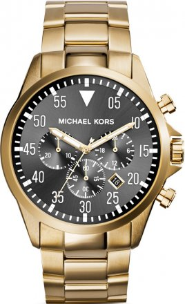 Michael Kors Gage Chronograph Stainless Steel Mens Watch MK8361