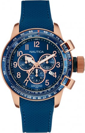 Nautica Rose Gold Chronograph NAI28500G