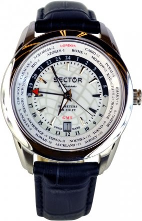 Sector Classic Black Leather Strap R3251585002